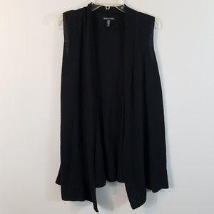 Eileen Fisher Italian Yarn Knit Sleeveless Vest L